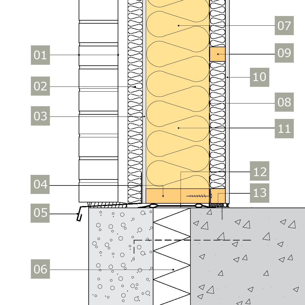 isolering yttervägg tjocklek